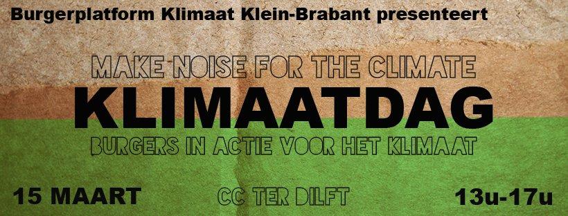 Klimaatdag Klein-Brabant uitgesteld wegens Corona virus